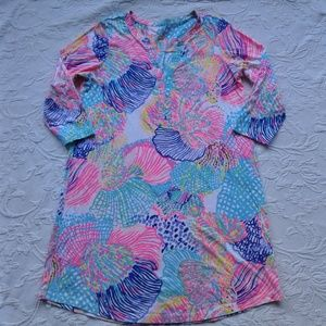 Lilly Pulitzer Ali Dress Roar of the Seas Large